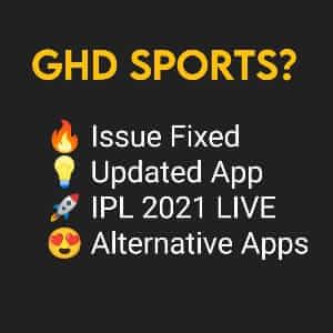 GHD Sports, GHD Sports Not Working, GHD Sports Not working why, GHD Sports not opening